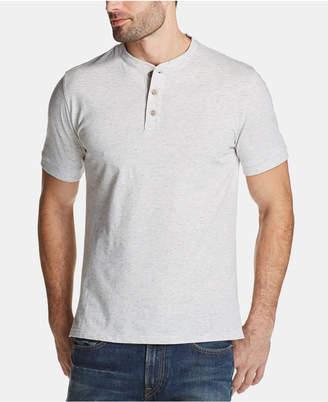 Weatherproof Vintage Men Melange Henley Shirt