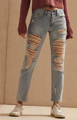PacSun Thrashed Wash Boyfriend Jeans