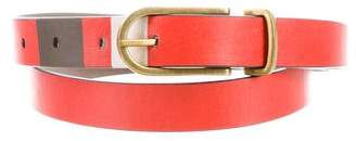 Tory Burch Skinny Leather Belt