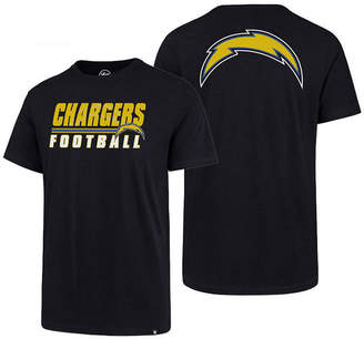 '47 Men's Los Angeles Chargers Fade Back Super Rival T-Shirt