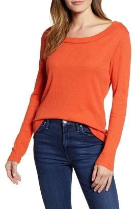 Caslon Long Sleeve Rib Tee