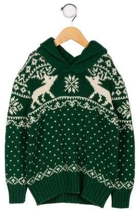 Polo Ralph Lauren Girls' Pattern Print Turtleneck Sweater