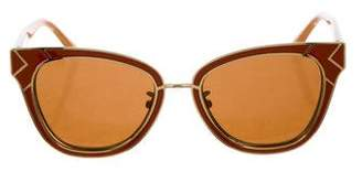 Tory Burch Cat-Eye Gradient Sunglasses
