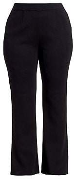 Misook Misook, Plus Size Misook, Plus Size Women's Tailored-Fit Bootcut Pants