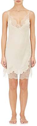 Carine Gilson Women's Lace-Trimmed Silk Chemise