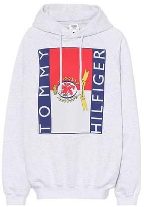 Vetements X Tommy Hilfiger oversized hoodie