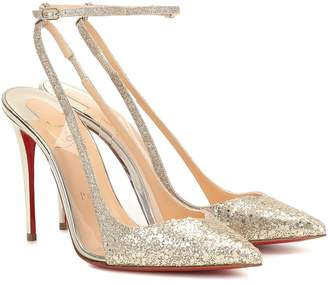 100% authentic 1d918 d3e9b Christian Louboutin Glitter Heels - ShopStyle UK
