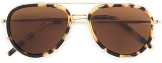 Tomas Maier Eyewear aviator frame sunglasses