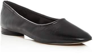 AVEC LES FILLES Myrina Leather Ballet Flats
