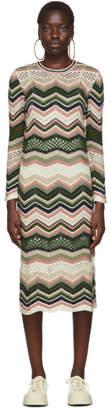 M Missoni Multicolor Crochet Dress