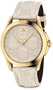 Gucci Women's G-Timeless Signature Watch