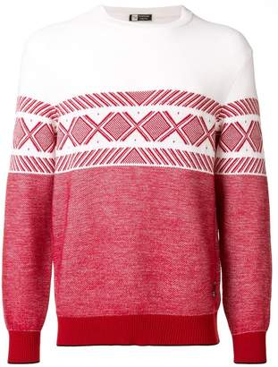 Ermenegildo Zegna Techmerino colour-block jumper