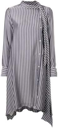 See by Chloe off-centre button dress