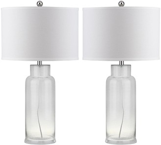 Safavieh 2-piece Bottle Glass Table Lamp