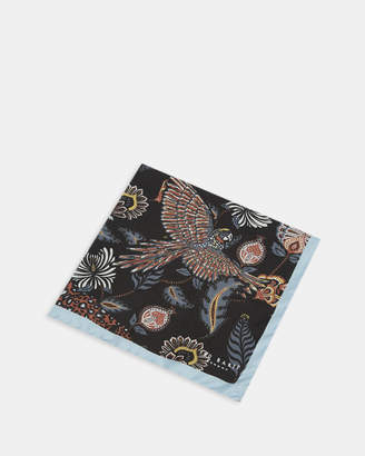 Ted Baker DIGME Animal paisley silk pocket square