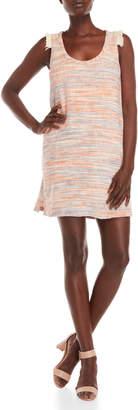Lilla P Cotton Woven Slub Shift Dress