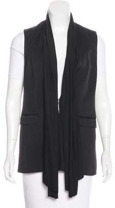 Rag & Bone Sleeveless Shawl-Collared Vest