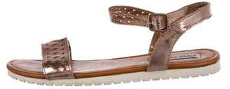 Steve Madden Metallic Leather Sandals