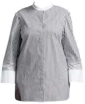 Lafayette 148 New York, Plus Size Marianne Striped Blouse