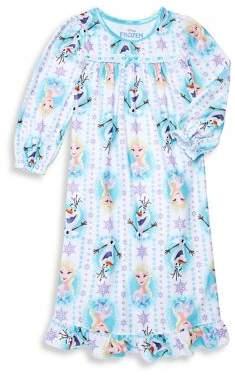 AME Sleepwear Little Girl's Frozen Nightgown