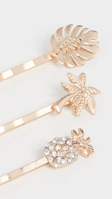 Shashi Jungle Bobby Pin Set