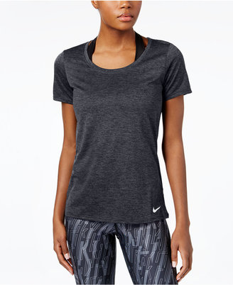 Nike Dry Legend Scoop Neck Training Top $20 thestylecure.com