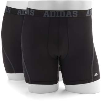 adidas Men's 2-pack ClimaCool Solid Boxer Briefs