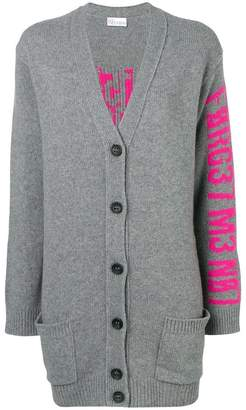 RED Valentino oversized knitted cardigan