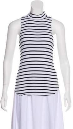 Frame Sleeveless Striped Top