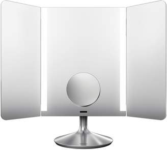 Simplehuman Sensor Wide Mirror with Wi-Fi Setting