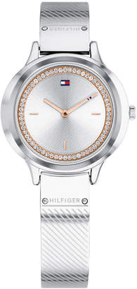 Tommy Hilfiger Women's Stainless Steel Bangle Bracelet Watch 32mm Created for Macy's