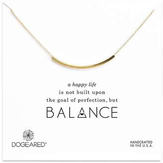 Dogeared Balance Tube Necklace, 16""