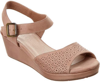 Chocolat Blu Yin Leather Wedge Sandal