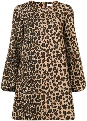 P.A.R.O.S.H. leopard print shift dress