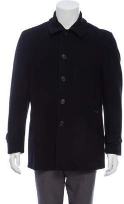 Burberry Wool Point-Collar Coat