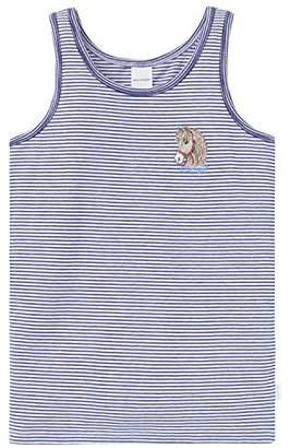 Schiesser Girl's Hemd 0/0 Vest, (White 100)
