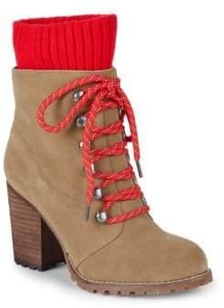 Kari Stack Heel Hiking Boots