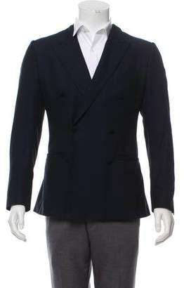 Dolce & Gabbana Double-Breasted Peaked-Lapel Blazer