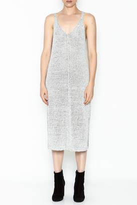 Lush Sweater Slip Dress