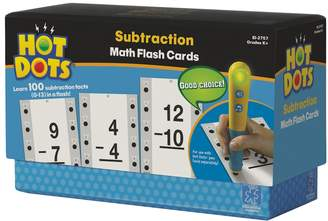 Educational Insights Hot Dots Math Flash Cards -Subtraction