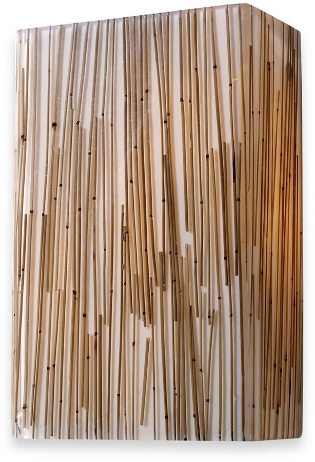 Bed Bath & Beyond ELK Lighting Modern Organics 2-Light Sconce in Bamboo