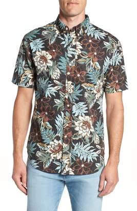 Reyn Spooner Vintage Hawaiian Regular Fit Floral Sport Shirt