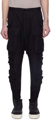 Taverniti So Ben Unravel Project Logo strap cargo pants