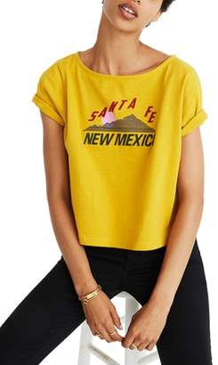 Madewell Santa Fe New Mexico Setlist Boxy Tee