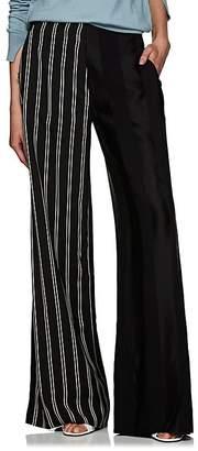 Esteban Cortazar Women's Mixed-Striped Wide-Leg Pants