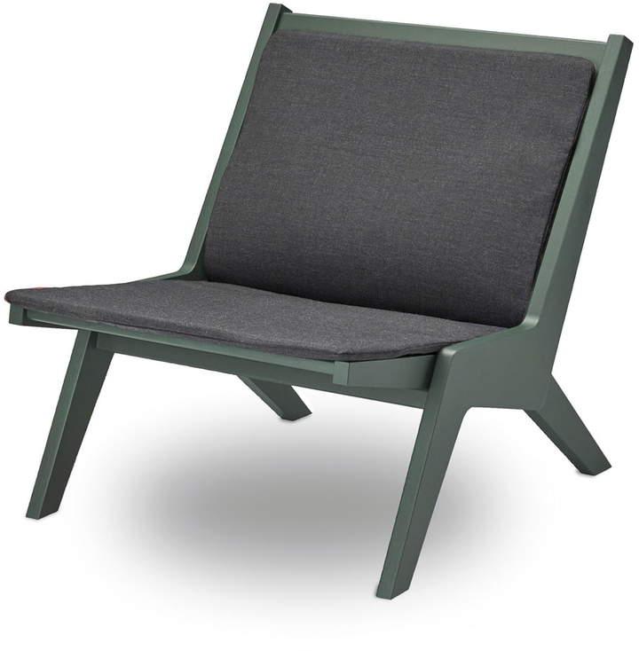 Skagerak - Miskito Lounge Chair, Esche / hunter green