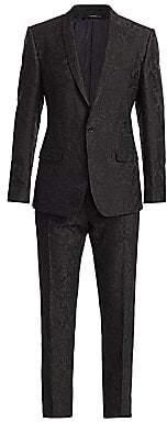 Dolce & Gabbana Men's Jacquard Tuxedo Jacket