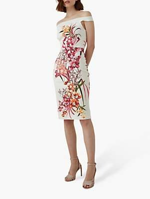 fe4e644a367 Karen Millen Orchid Floral Pencil Dress