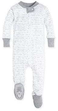 Burt's Bees Baby® Dew Drop Footie in Grey