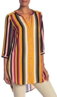 Daniel Rainn DR2 by Striped Tunic Blouse